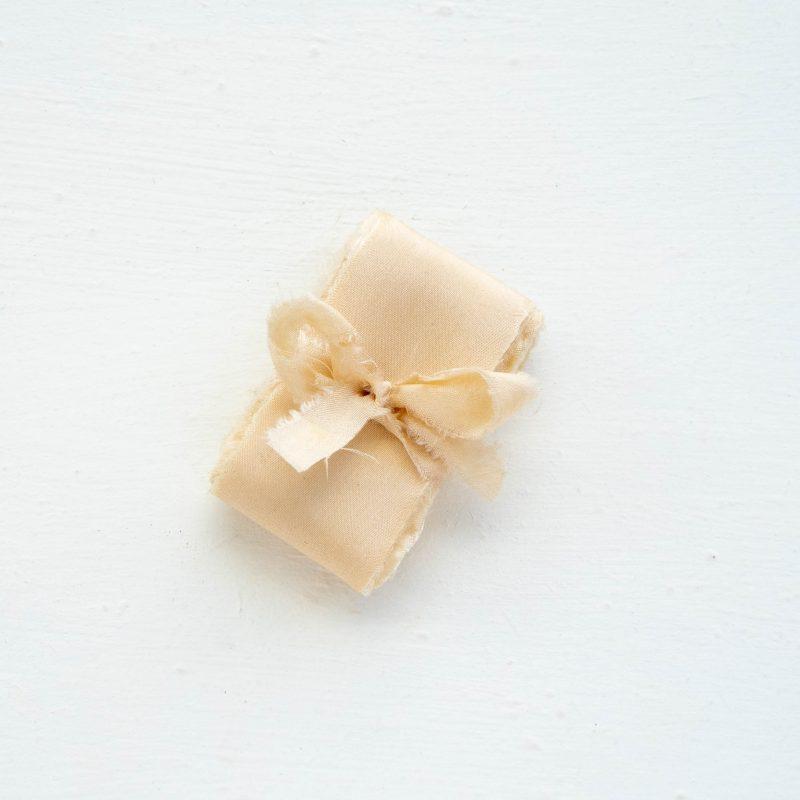 Webshop Zijden Linten Silk Ribbon La Lettre Kalligrafie Milk & Honey