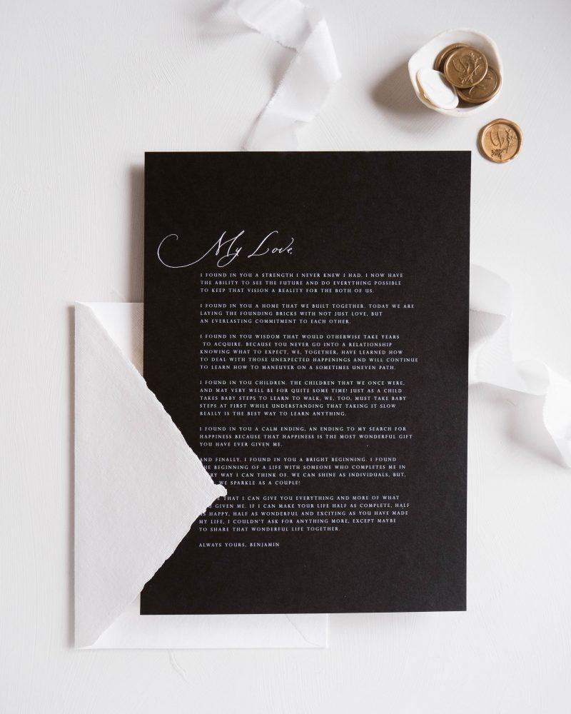 La Lettre Kalligrafie Gekalligrafeerde Handgeschreven Geloften Aanzoek Liefdesbrief Gedicht