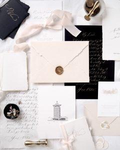 Webshop Wedding & Stationery Silk Ribbon La Lettre Kalligrafie